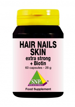 Hair Nails Skin extra strong + Biotin