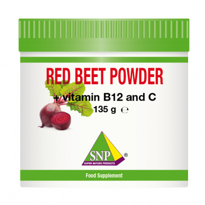 Red Beet Powder + Vitamin B12 + Vitamin C + Stevia