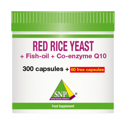 Red rice yeast + Fish-oil + Co-enzyme Q10