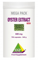 Oyster extract+Royal Jelly+Maca  750 capsules MEGA PACK Pure