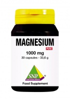 Magnesium 1000 mg Pure