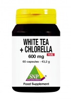 White Tea + Chlorella 600 mg Pure